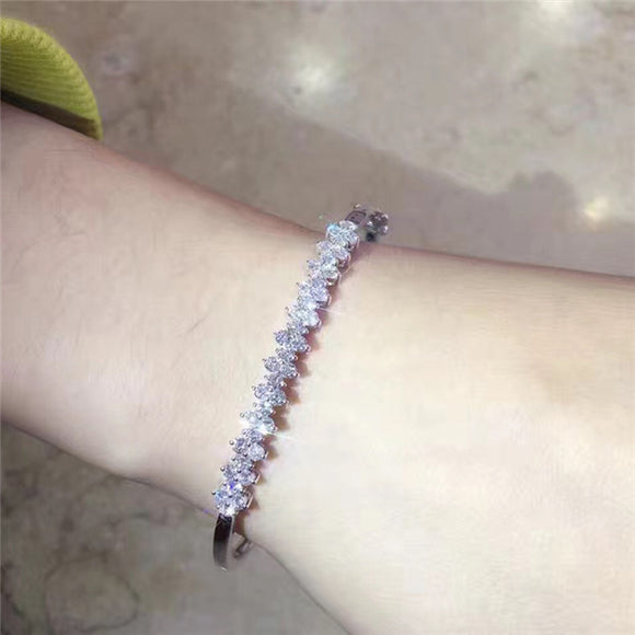 Diamond Charm Bracelet For Women