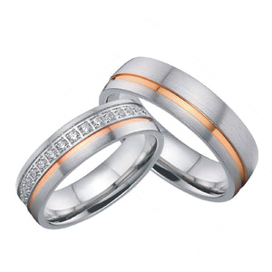 Luxury Men and Women Rings for Couples