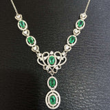 Exotic Emerald Necklace