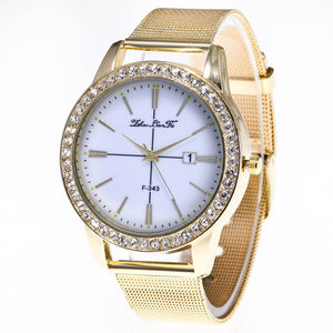 Classic Gold Quartz Watch