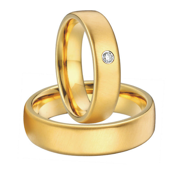Gold Pair of Rings for Couples