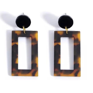 Tortoiseshell Earrings - Grace and Gild