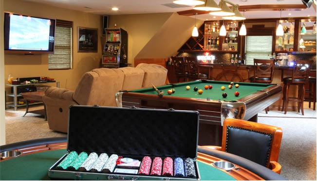 The Gambler's Man Cave