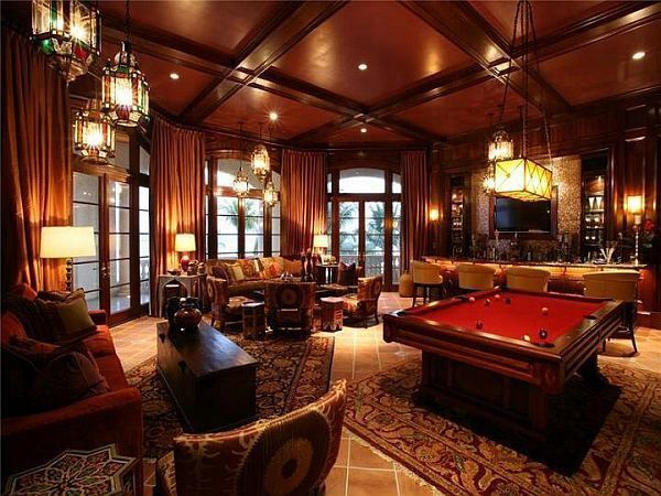 Luxurious Man Cave Designs and Ideas