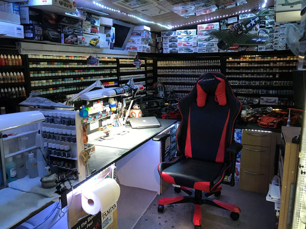 Scale Modeler's Man Cave