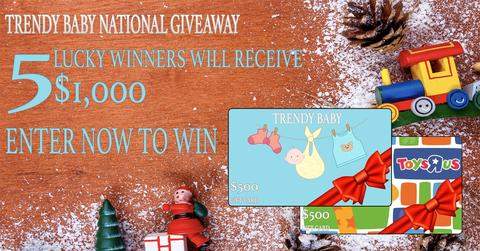 Trendy Baby Gift Card Contest