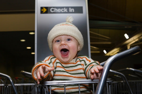 Trendy Baby And Company's best tips for Flying with Baby