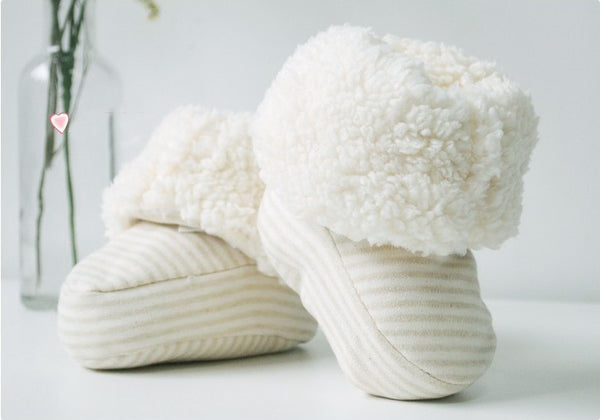 Best Baby Shoes, Fit Booties - 100% Organic Cotton