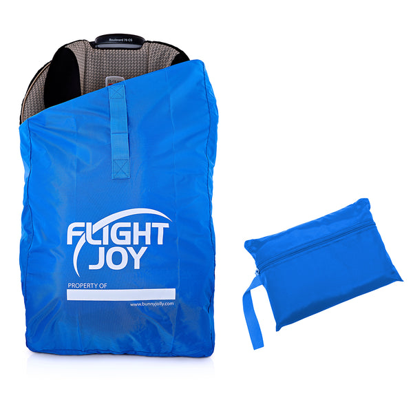 FlightJoy Car Seat Travel Bag - Best for Airport Gate Check