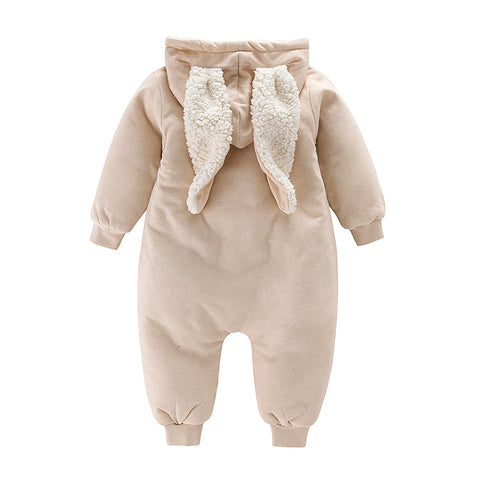 Baby SnowSuit - Solid and Striped Pattern for Boys and Girls