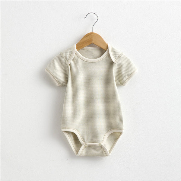 Organic Bodysuit Short Sleeve