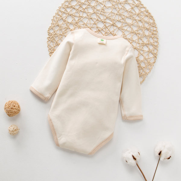 Best Baby Onesie with Long Sleeve-100% Organic Cotton