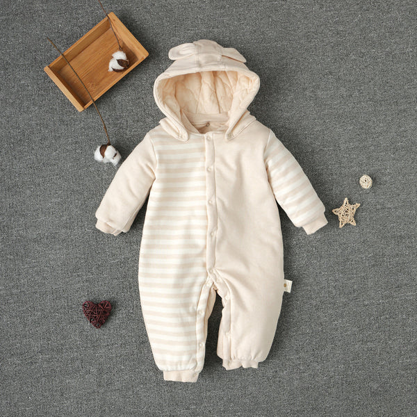 Gender Neutral SnowSuit with Removable Hat