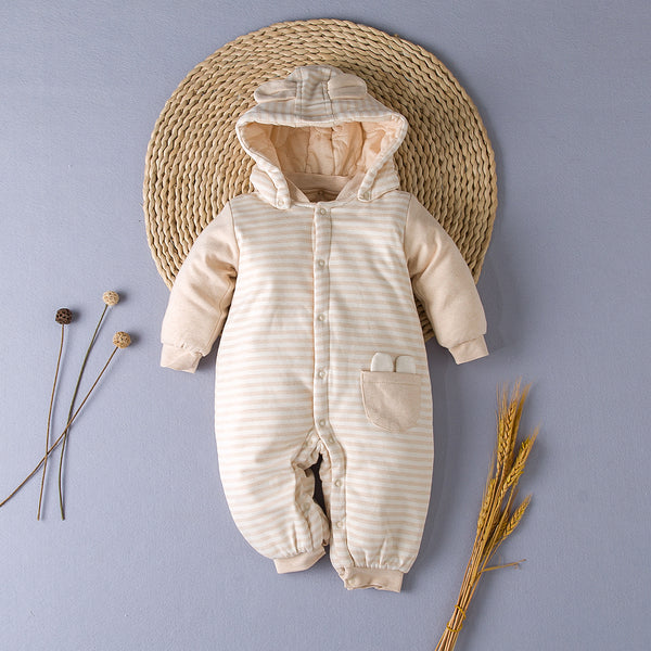 Adorable Baby SnowSuit - 100% Organic Cotton