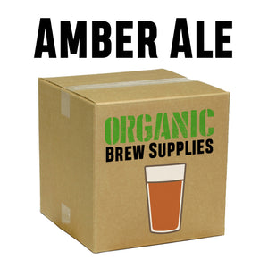 Amber Ale - Organic 5 Gallon All Grain Beer Recipe Kit