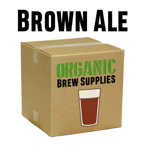 Brown Ale - Organic 5 Gallon All Grain Beer Recipe Kit