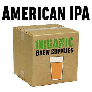 American IPA - Organic 5 Gallon All Grain Beer Recipe Kit