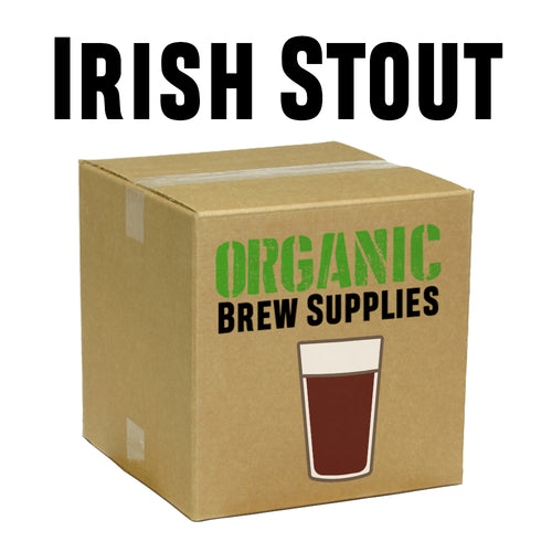 Irish Stout - Organic 5 Gallon All Grain Beer Recipe Kit