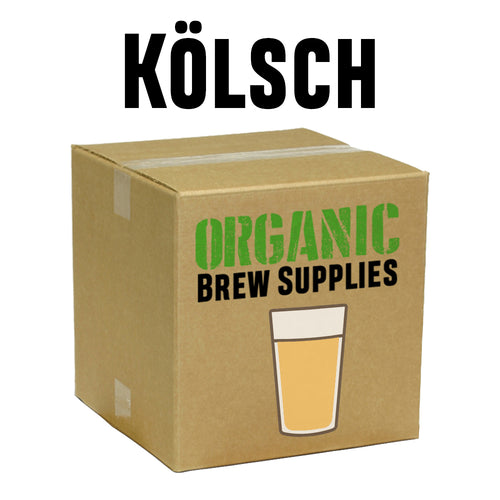 Kölsch - Organic 5 Gallon All Grain Beer Recipe Kit