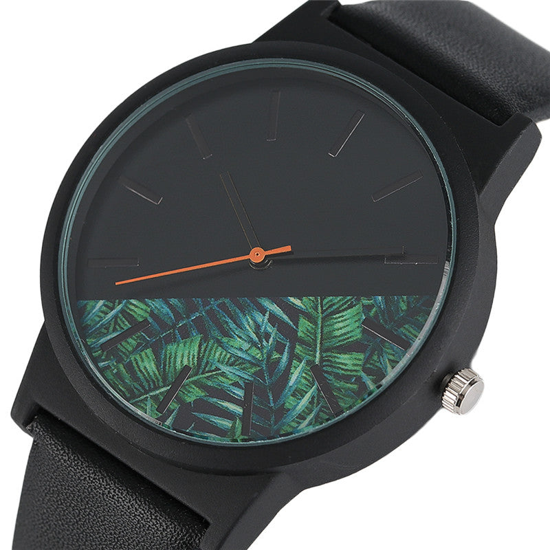 Unisex Tropical Quartz Timepieces