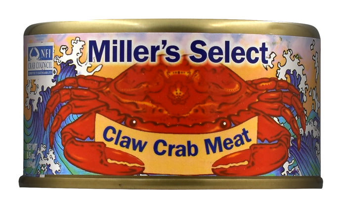 Miller's Select Claw Crab Meat