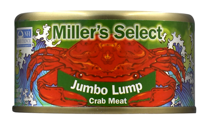 Miller's Select Jumbo Lump Crab Meat