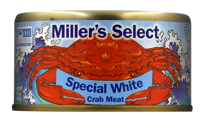 Miller's Select Special White Crab Meat