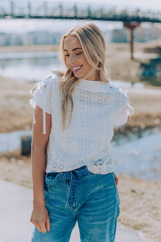 Layla Crochet Top