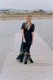 Harlow Lace Maxi in Black