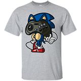 """Blue Hedgehog Gamer"" Men's Shirt"