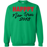 """Happy New Year 2018"" Sweatshirt"