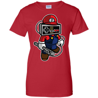 """NES Red Plumber"" Women's Shirt"
