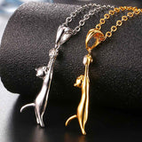 Cute Cat Necklace & Pendant For Women