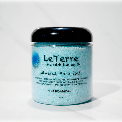 LeTerre Bath Salts with Charm