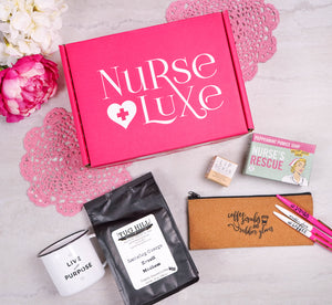 """Coffee, Scrubs & Rubber Gloves"" Box"