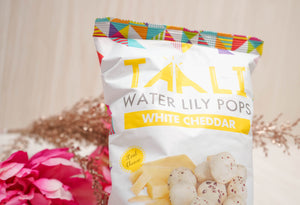 Taali White Cheddar Water Lily Pops