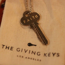 "The Giving Keys ""Faith"" Necklace"