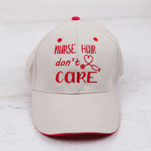 Nurse Hair Ball Cap