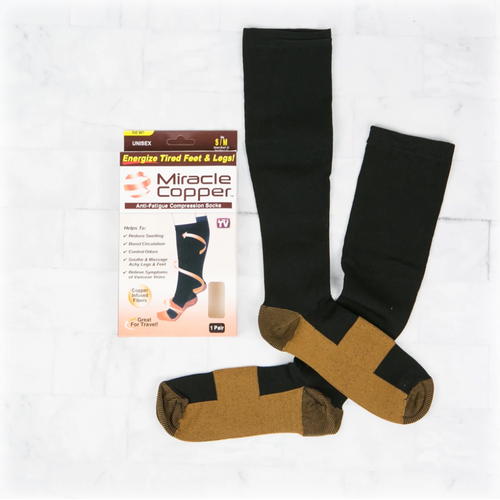 Miracle Copper Compression Socks