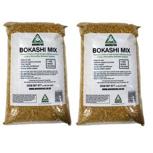 2 bags of Bokashi 1kg mix