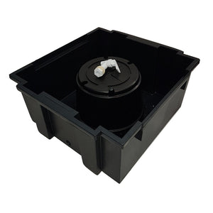 WormsRus Worm Farm spare base bin with pot and tap