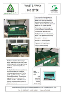 Waste Away Digester 1m by 2m PLEASE ASK US FOR A QUOTE