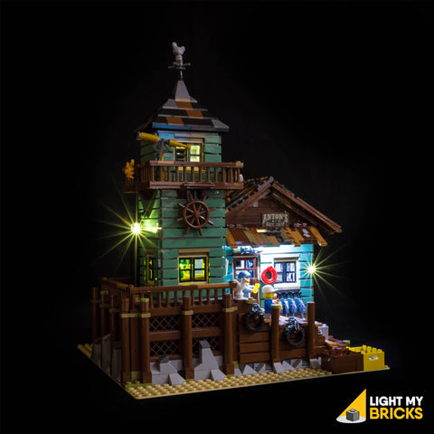 Old Fishing Store - 21310 Light Kit