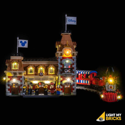 DISNEY TRAIN STATION - 71044 LIGHT KIT