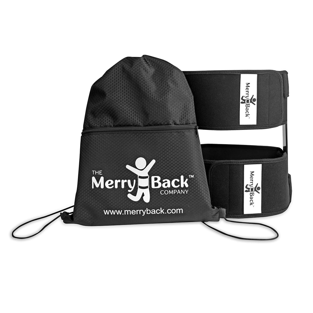 MerryBack™ - Ultralite Personal Spinal Decompression Therapy | Portable Back Pain Relief On Demand | For The Office, Driving, Flying, or Standing