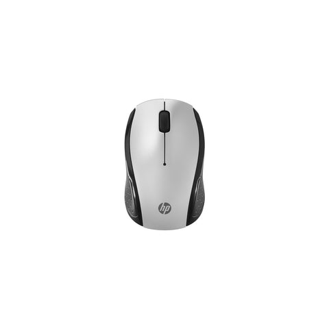 HP 201 Mouse - Radio Frequency - 3 Button(s) - Silver