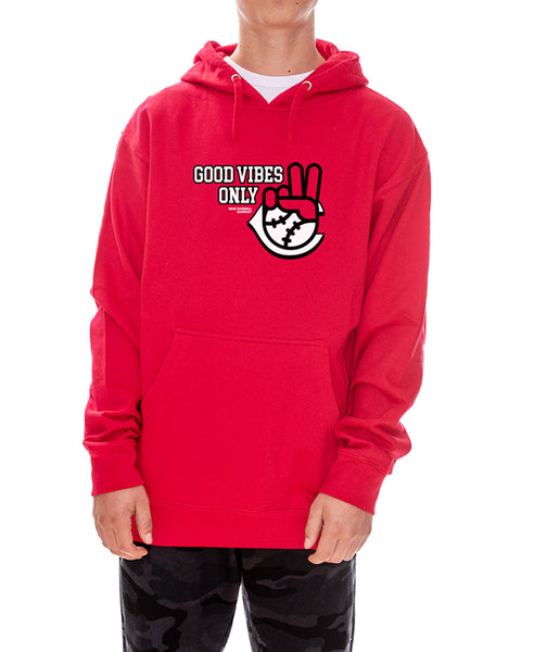 Good Vibes Only Reds Hoodie