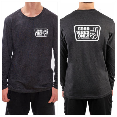 Good Vibes Only Box Long Sleeve Tee