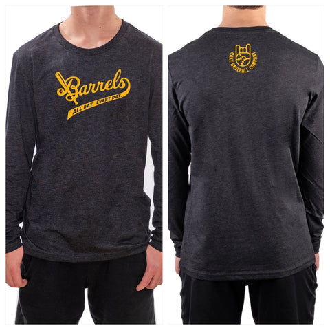 American Batsmith Barrels Collab Long Sleeve Tee