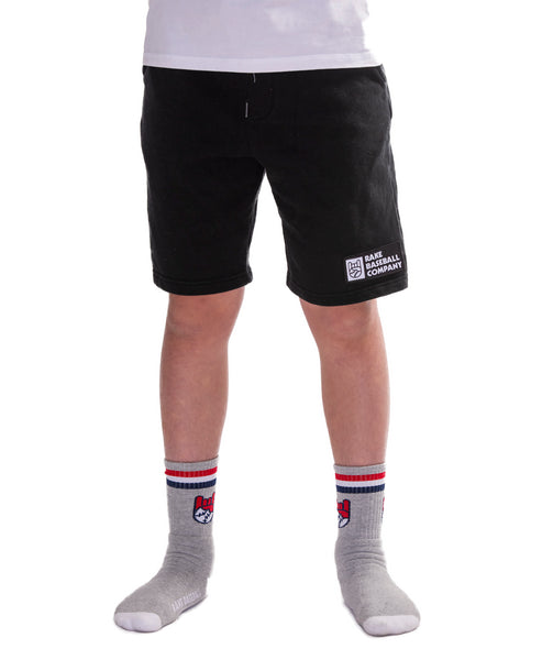 Rake Baseball Company Patch Fleece Shorts